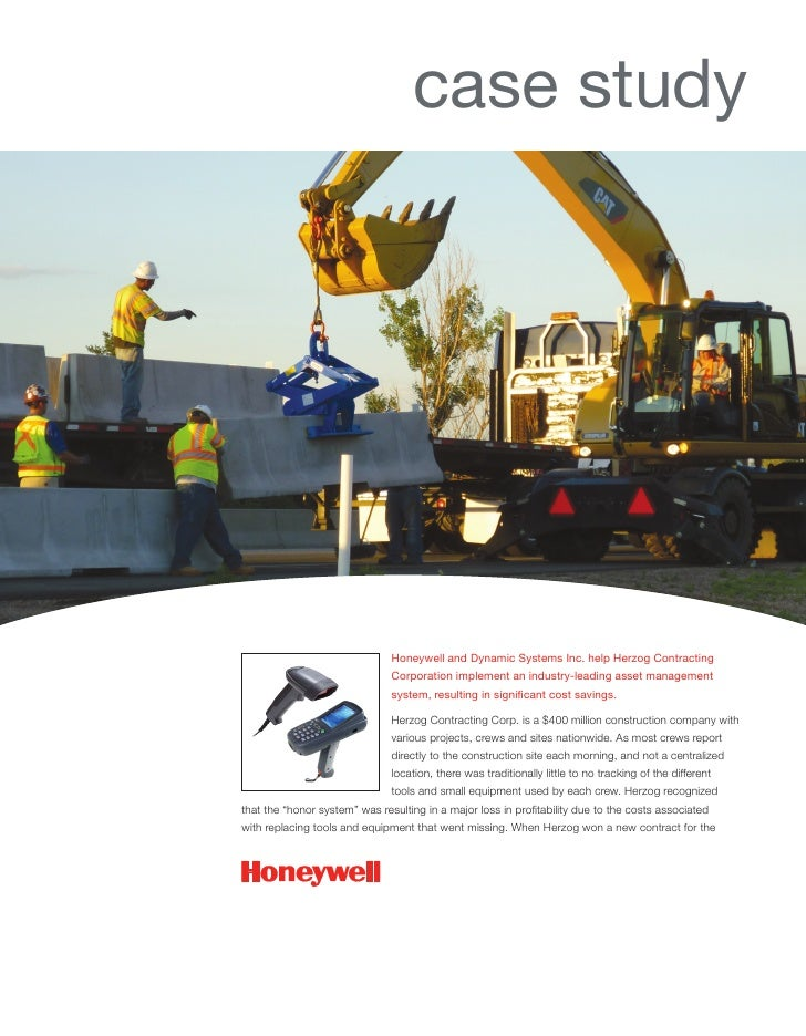 case study                               Honeywell and Dynamic Systems Inc. help Herzog Contracting                       ...