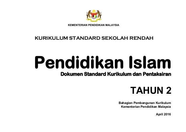 DSKP P.ISLAM TAHUN 2 Slide 3