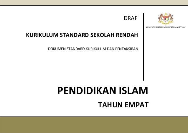Dskp Pendidikan Islam Kssr Tahun 4