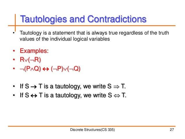 Discrete Structures Lecture 2
