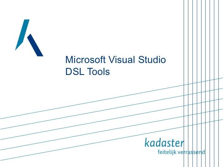 Microsoft Visual Studio DSL Tools