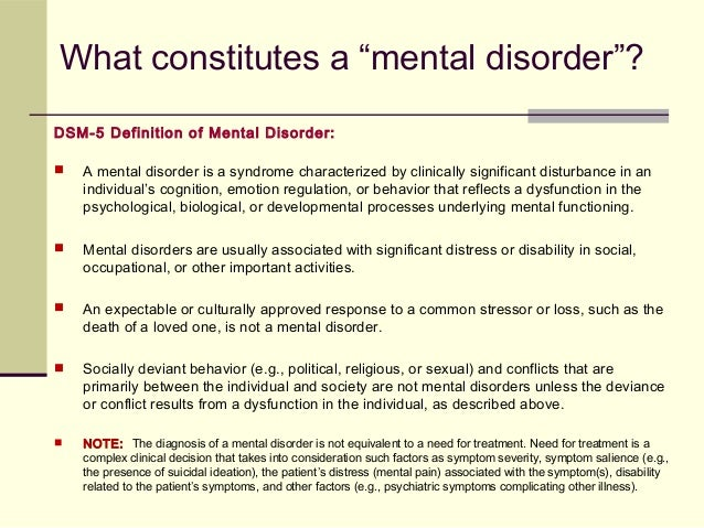 essay on mental disorders Read this essay on mental illness paper come browse our large digital warehouse of free sample essays get the knowledge you need in order to pass your classes and more only at termpaperwarehousecom.