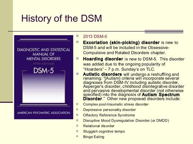 The dsm 5