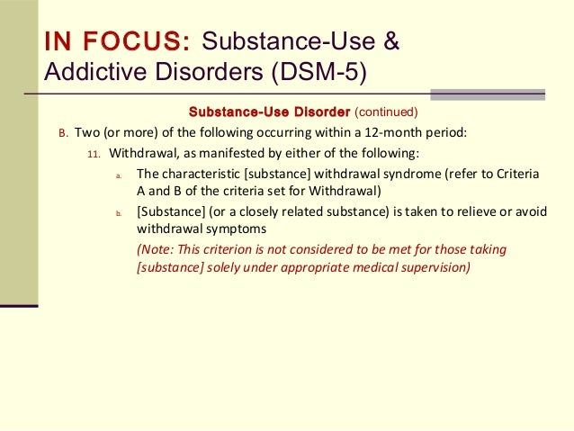 DSM-5 and Proposed Changes to the Diagnosis of Autism