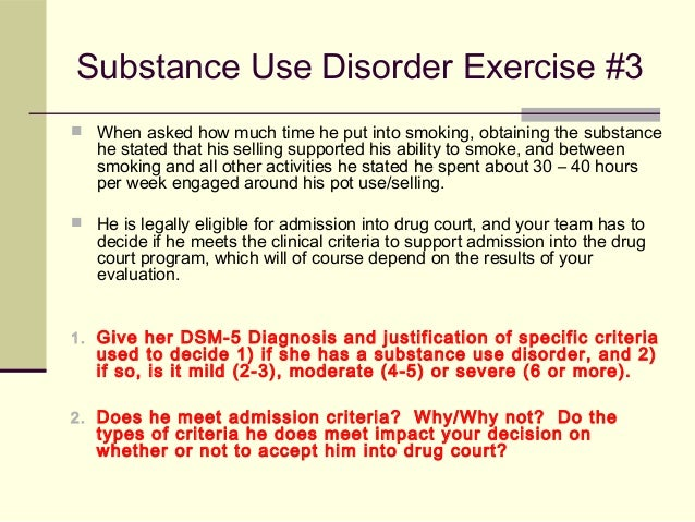 dsm 5 substance use disorder criteria pdf