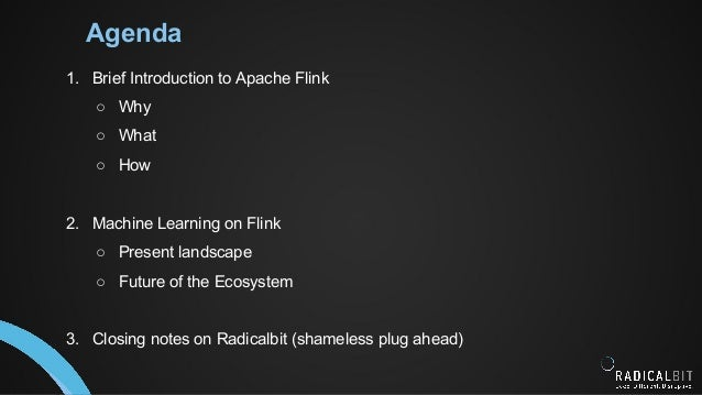 Data Intensive Applications with Apache Flink Slide 2