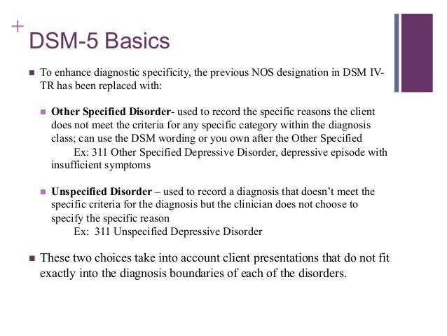 DSM-5 Making the Transition Introduction