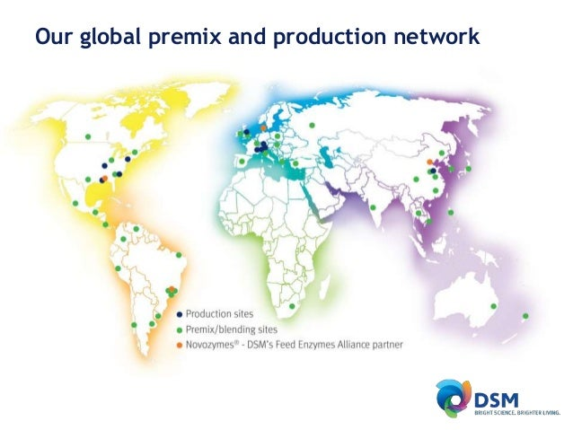 DSM's world of Animal Nutrition & Health