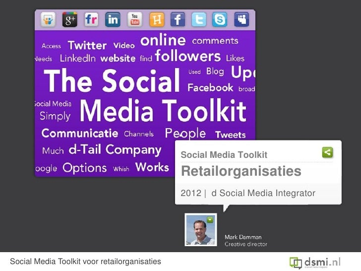 Social Media Toolkit                                               Retailorganisaties                                     ...