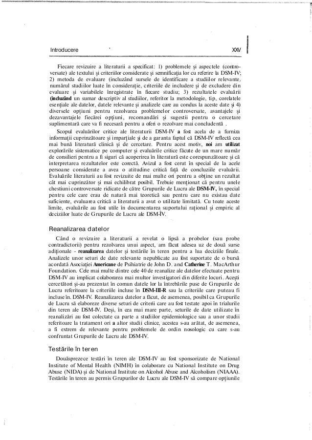 Introducere ' XXV Fiecare revizuire a literaturii a specificat: 1) problemele şi aspectele (contro- versate) ale textului ...