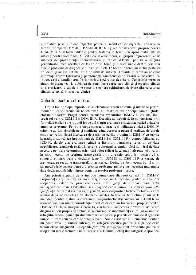 XXVI Introducere alternative şi să studieze impactul posibil al modificărilor sugerate. Testările în teren au comparat DSM...