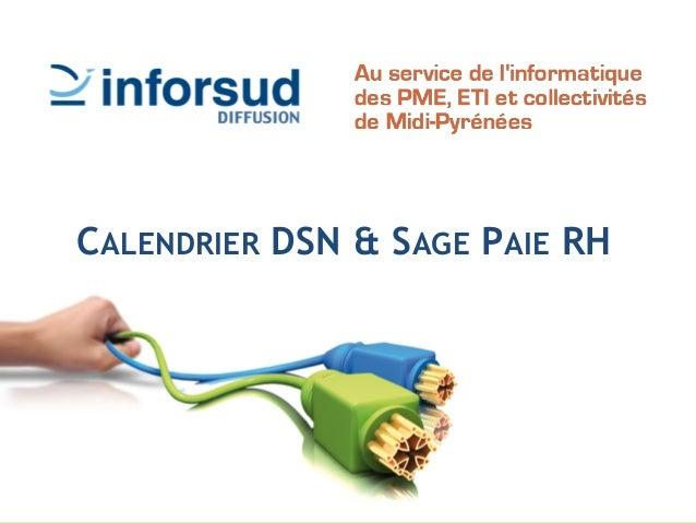 CALENDRIER DSN & SAGE PAIE RH