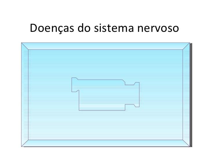 Doenças do sistema nervoso