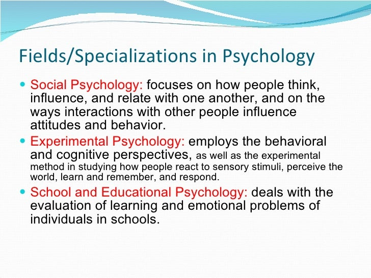 Nature And Scope Of Social Psychology Ppt