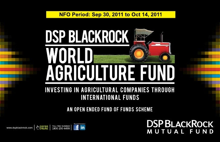 DSP BlackRock World Agriculture Fund         Indian Investors                                                             ...