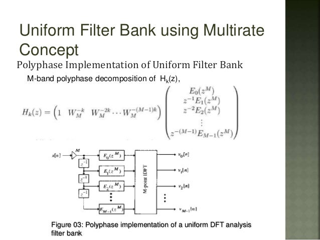 This article provides a short survey of the concepts, principles and applications of Multirate Filter Banks and Multidimensional Directional Filter