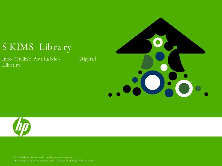 SKIMS Library Info Online Available-  Digital Library