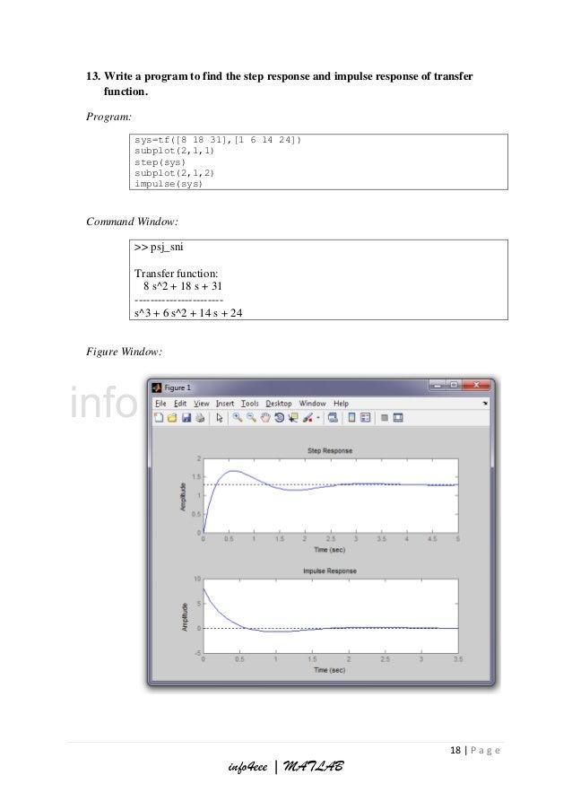 Digital Signal Processing and Control System under MATLAB