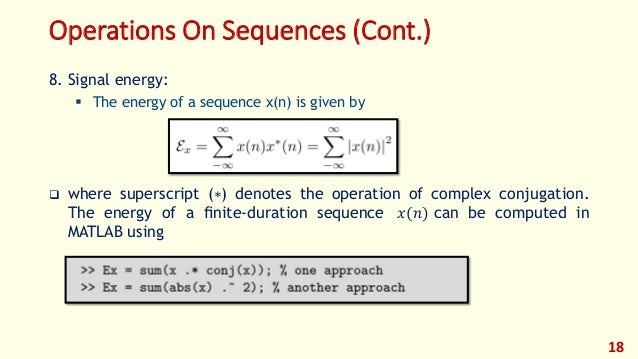 DSP_FOEHU - MATLAB 01 - Discrete Time Signals and Systems