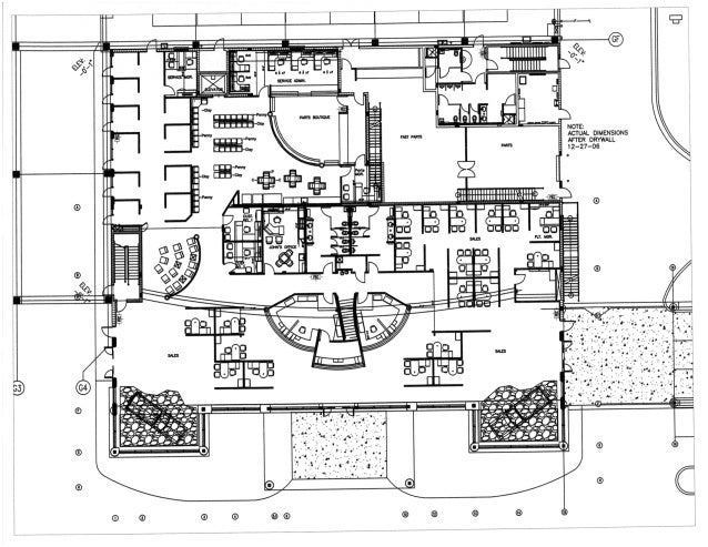 First Floor Furniture Plan For Fort Myers Toyota