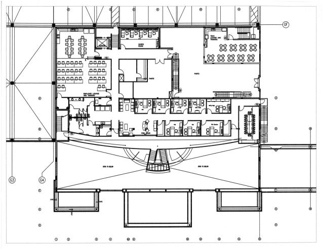 Second Floor Furniture Plan for Fort Myers Toyota in Fort