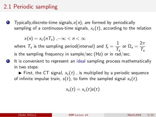 Digital Signal Processing[ECEG-3171]-Ch1_L05