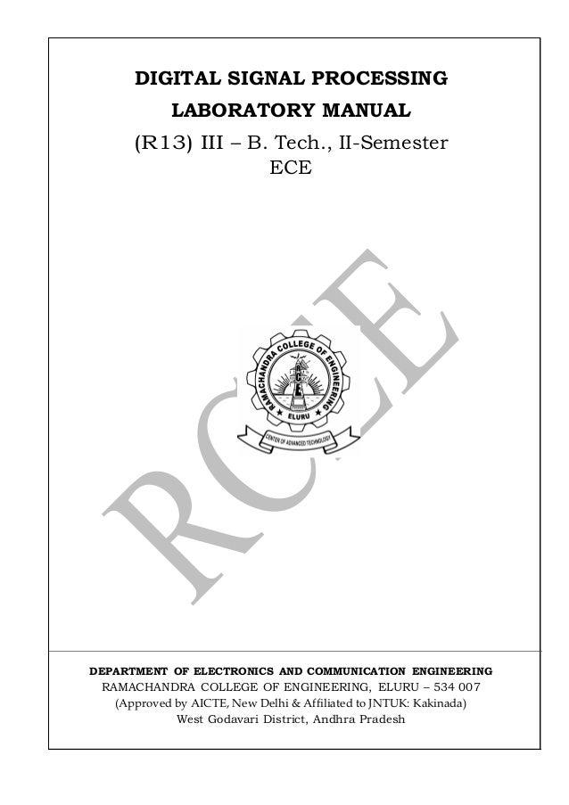 Dsp lab manual 15 11-2016
