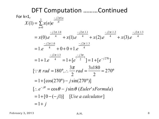 Dsp lecture vol 2 dft & fft