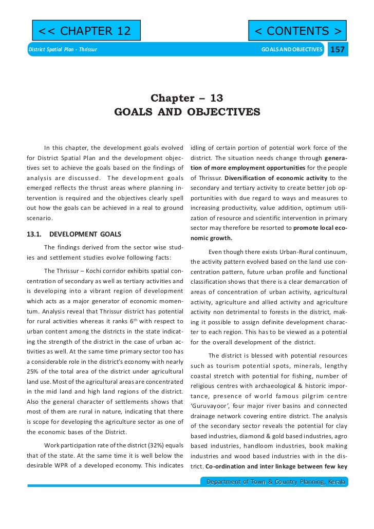 << CHAPTER 12                                                                   < CONTENTS >District Spatial Plan - Thriss...