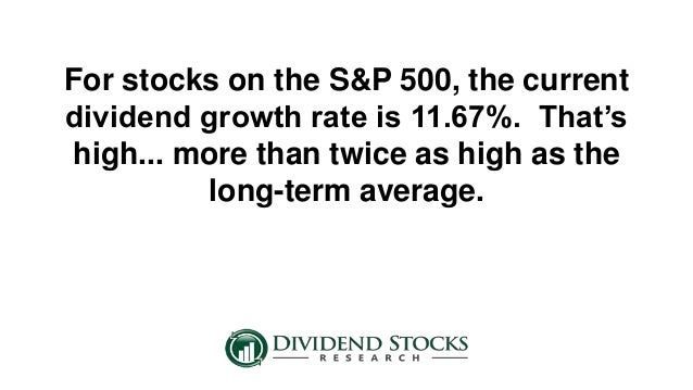When high dividend stocks melt down - High div stocks ...