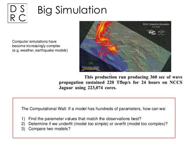 Complex Models for Big Data Slide 3