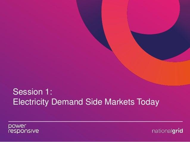 DSR: Being Power Responsive, 18th June - Full Slidepack