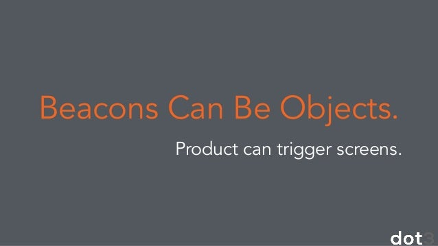 iBeacon, BLE and The Future of Engagement: Dsrupted Conference