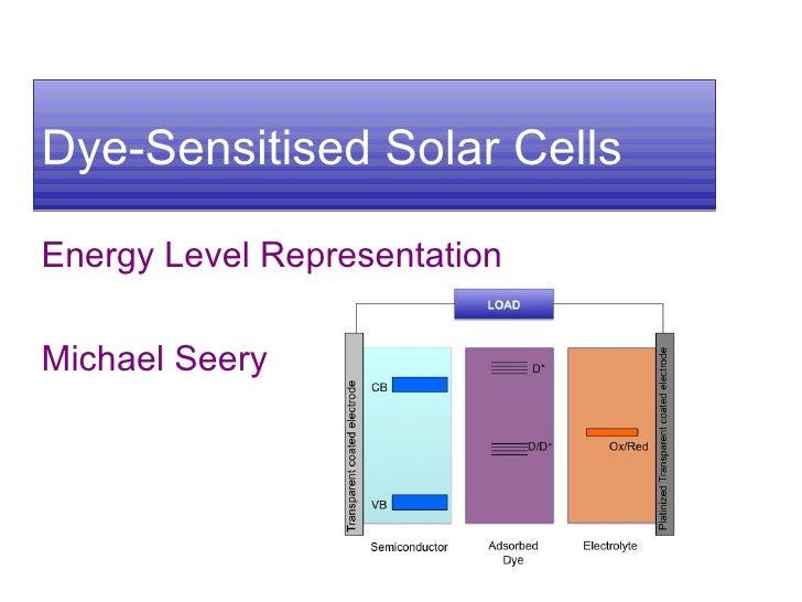 Improving performance of dye sensitized solar cells dssc