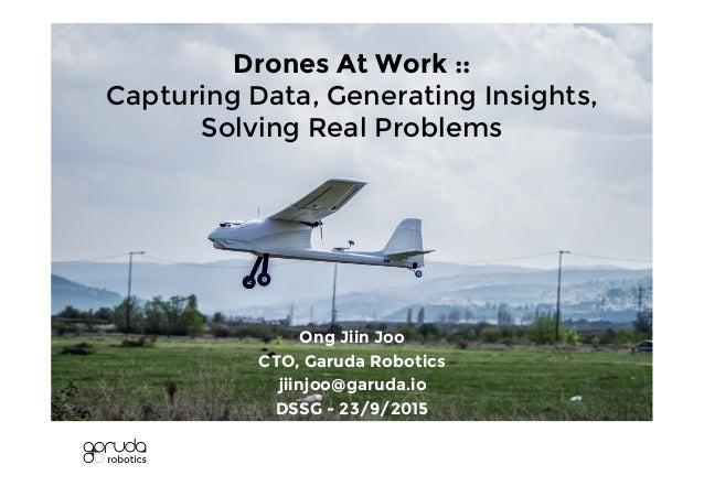 Garuda Robotics X Datascience Sg Meetup Sep 2015