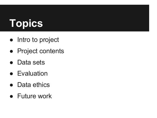 Data Science for Social Good and Ushahidi - Final Presentation