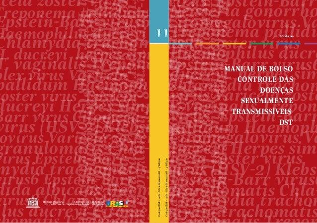 2a Edição MANUAL DE BOLSO CONTROLE DAS DOENÇAS SEXUALMENTE TRANSMISSÍVEIS DST iagonorrhoeaeTreponemap aemophilusducreyiH.d...