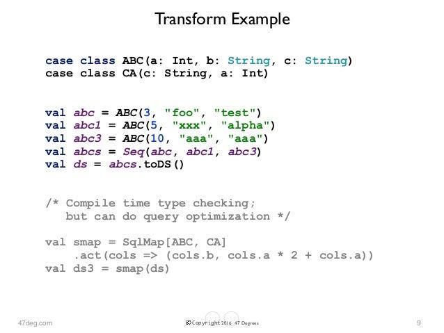 Type Checking Scala Spark Datasets: Dataset Transforms