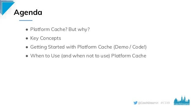 Boost your App with Platform Cache Learn how to leverage the platform cache to improve your app's performance, Daniel Stange Slide 3