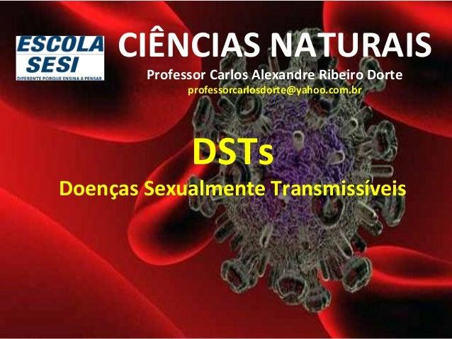 CIÊNCIAS NATURAIS  Professor Carlos Alexandre Ribeiro Dorte  professorcarlosdorte@yahoo.com.br  DSTs  Doenças Sexualmente ...