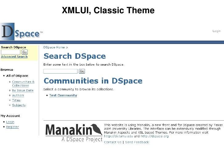 XMLUI, Classic Theme