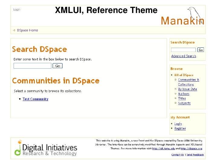 XMLUI, Reference Theme