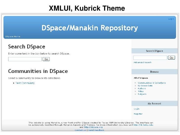 XMLUI, Kubrick Theme