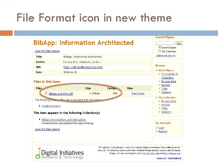File Format icon in new theme