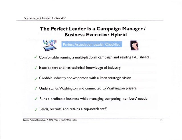 Political Presentation Examples