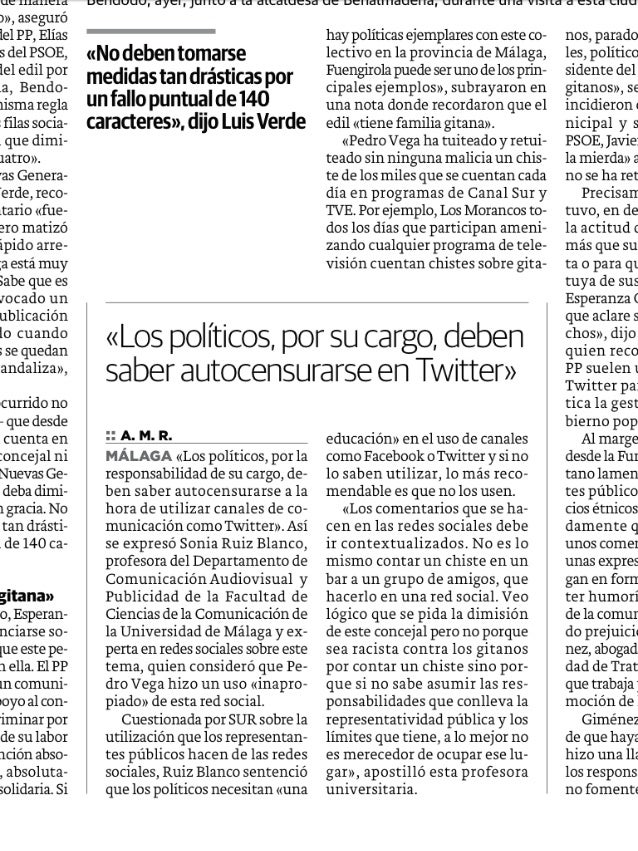 Diario Sur: 22-10-12