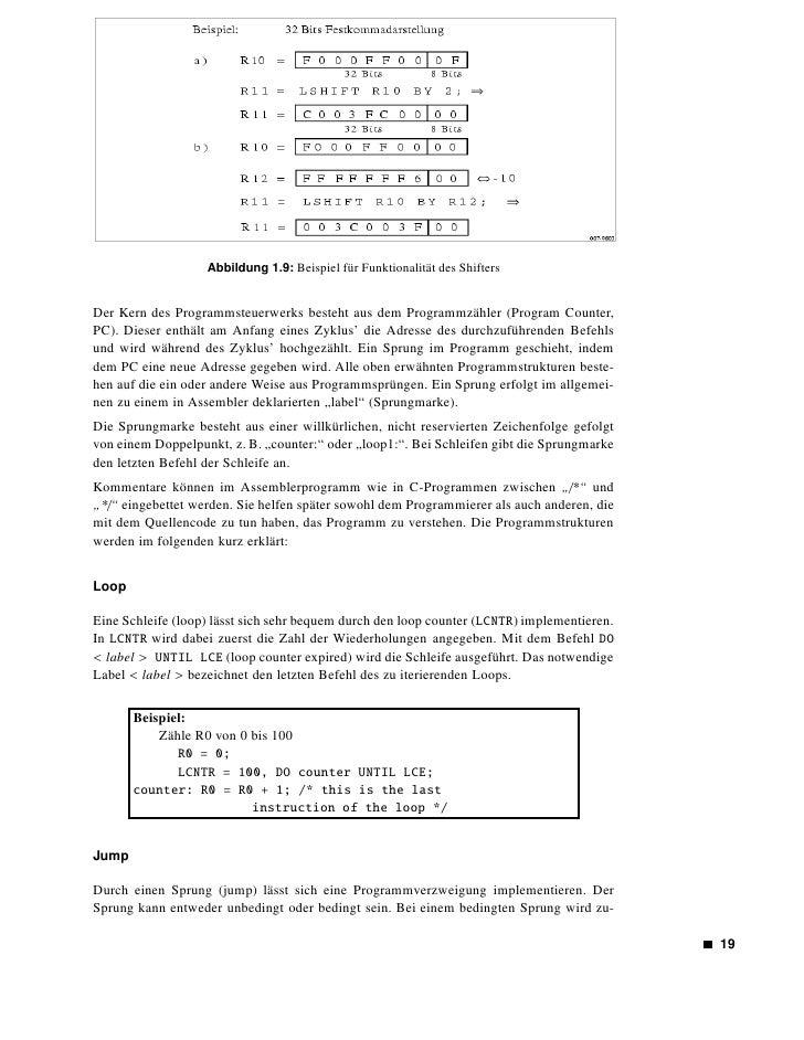 Abbildung 1.10: Verschiedene Programmstrukturen        erst eine Flagge in einem Register, das u. a. vom ASTAT-Register ab...