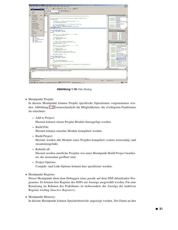 Abbildung 1.17: Edit-Dialog              entsprechenden Speicherstellen können in verschiedenem Format dargestellt werden....