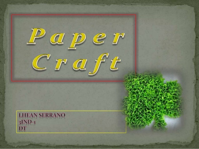 The collection of art forms employing paper or card for the creation of 3d objects.