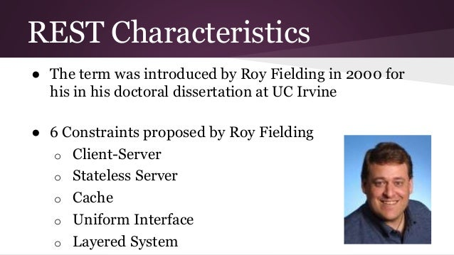 Phd dissertation assistance roy fielding
